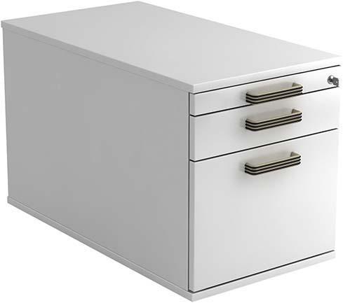 Rollcontainer TC20 42,8x80x51,2 cm Weiß VTC20/W/W/SG