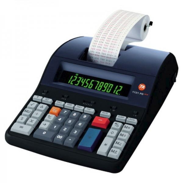 Triumph-Adler Tischrechner 1121 PD PD Eco B4997000 12stellig schwarz