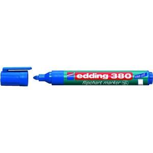 Flipchartmarker 380, Rundspitze, 1,5 - 3 mm, Schreibf.: blau