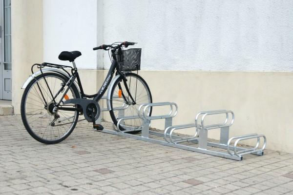 Fahrradständer 6 Plätze - Stellplätze höhenversetzt – Galva