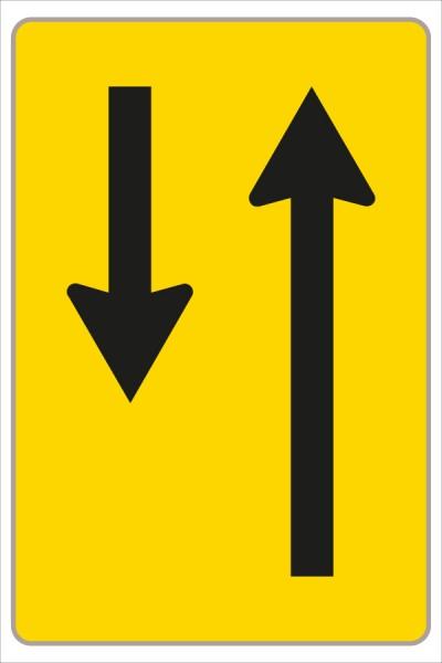§53/16c Fahrstreifenanzeiger gelb – schwarz F11