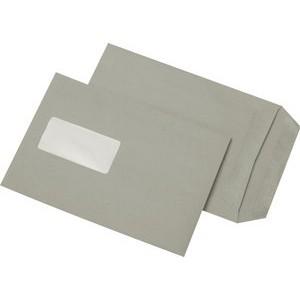 Versandtasche, m.Fe., sk, C5, 162x229mm, 80g/m², RC, grau