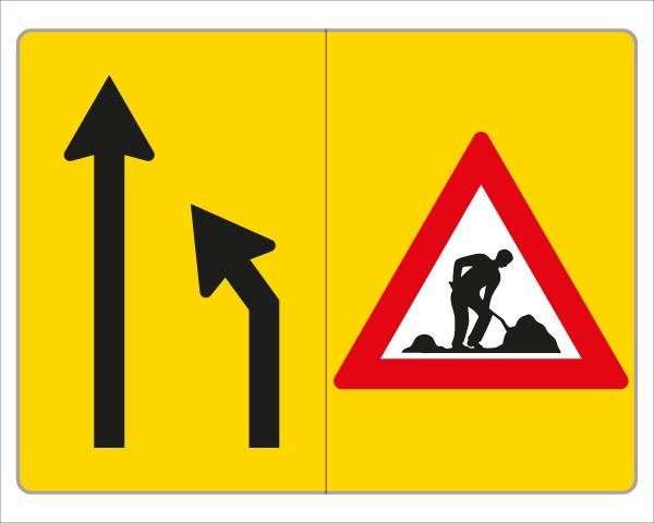 §53/16c Fahrstreifenanzeiger gelb – schwarz V3