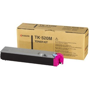 Toner, TK-520M, original, magenta, 4.000 Seiten
