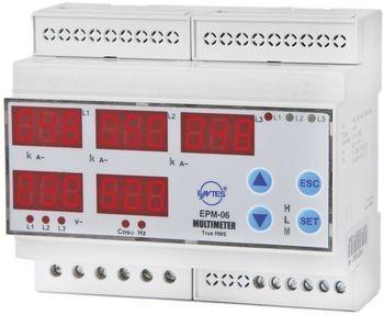 ENTES EPM-06-DIN Programmierbares 3-Pha