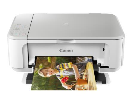 Canon Pixma Inkjet Drucker 3in1 white