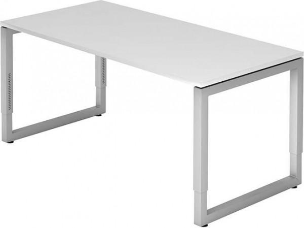 Schreibtisch R-Serie 160x80 weiß