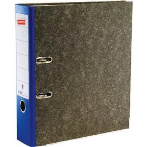 Ordner, Wolkenmarmorpapier (RC), SK-Rückenschild, A4, 80mm, blau