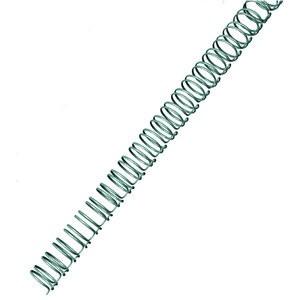 Binderücken, Draht, 34R.-3:1, A4, Ø: 8 mm, für: 60 Blatt, silber