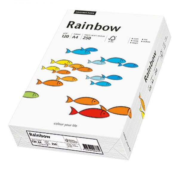 Rainbow Kopierpapier 88042205 A4 120g weiß 250 Bl./Pack.