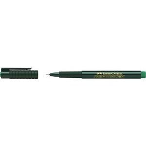 Fineliner Finepen 1511, Kappe, 0,4mm, Schreibf.: grün