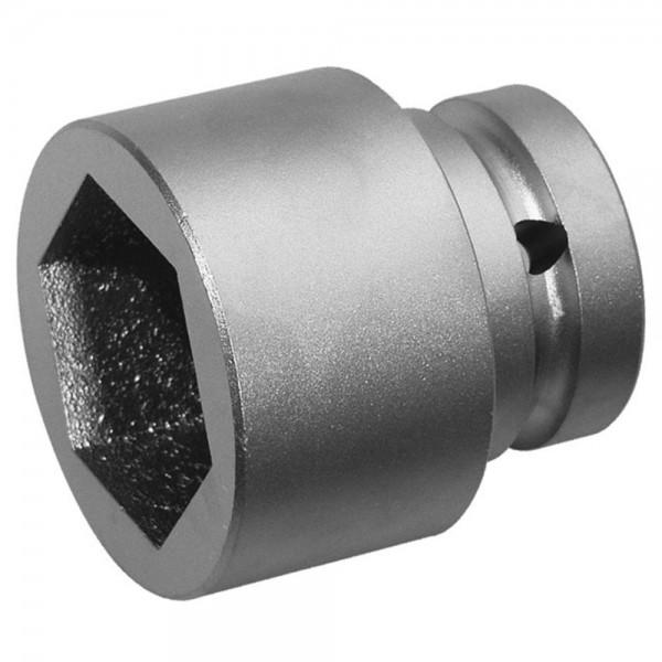"""A-MAG Kraft-Sechskantsteckschlüsseleinsatz 1/2"""", kurz, Edelstahl, 27 mm"""