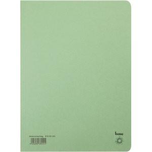 Aktendeckel, Karton (RC), 250 g/m², A4, 23,5 x 32 cm, grün