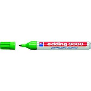 Permanentmarker, 3000, Rundspitze, 1,5-3 mm, Schreibf.: grün