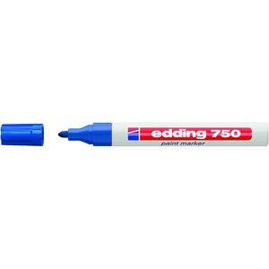 Lackmarker, 750, Rundspitze, 2 - 4 mm, Schreibf.: blau