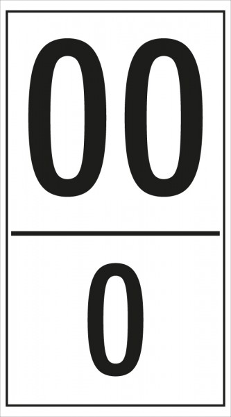 Kilometertafel für Landstraßen