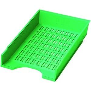 Briefkorb, PS, C4, 256 x 370 x 70 mm, grün