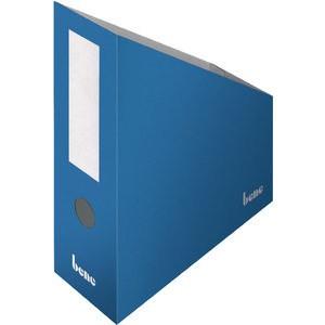Stehsammler, Wellpappe, mit Griffloch, A4+, 100x260x320mm, blau