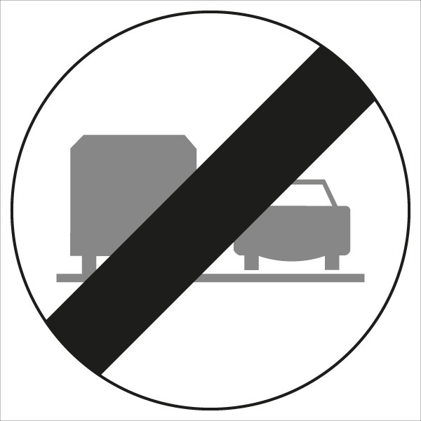 §52/4d Ende des Überholverbotes für LKW