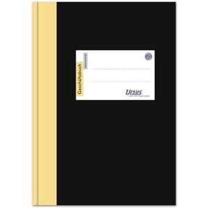 Geschäftsbuch Halbleinen, 2921B240K, kariert 5 mm, A4, 240 Blatt