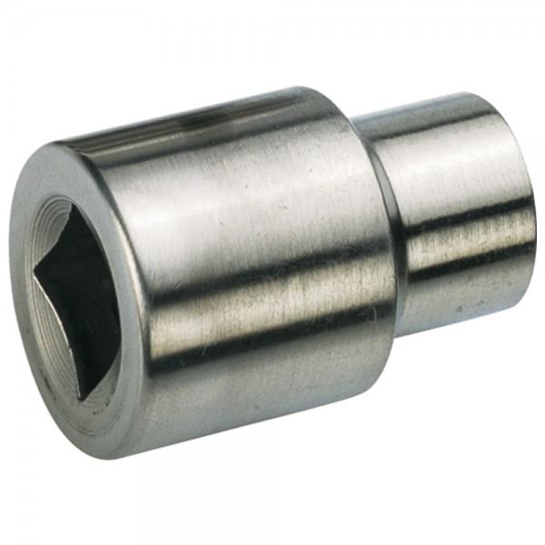 """A-MAG Sechskantsteckschlüsseleinsatz 1/4"""", Edelstahl, SW 13 mm"""