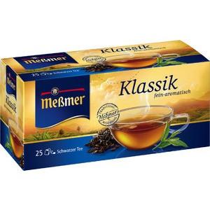 Schwarztee Klassik, Btl. kuv., Kart., 25x1,75g