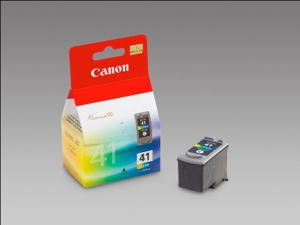 Canon CL41 Ink color