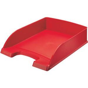 Briefkorb Standard Plus, PS, A4, 255 x 357 x 70 mm, rot