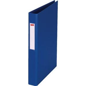 Ringbuch, PP-kasch., A4, 4-R-Reißmech., Ring-Ø: 25mm, blau
