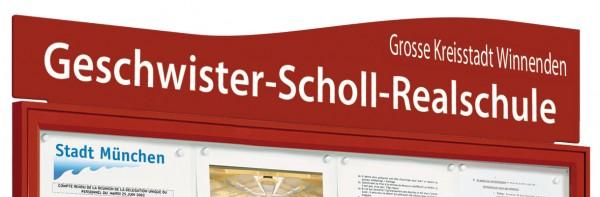 """Beschriftungstafel """"OZEAN"""" für Schaukasten TRADITION & KLASSIK"""