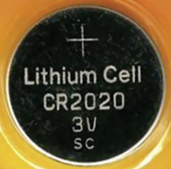 Knopfzelle CR 2020 Lithium Becocell CR 2