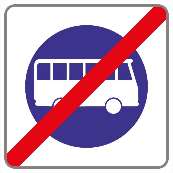 §53/24a Ende derStraße für Omnibusse