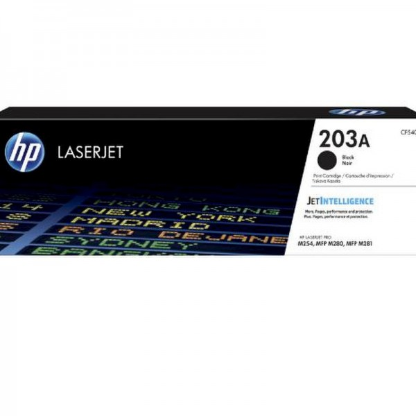 HP Toner CF540A 203A Schwarz 1.400 Seiten