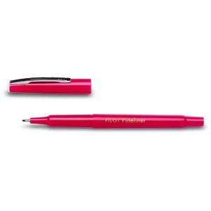 Fineliner SW-PPF, 0,4 mm, Schaft: in Schreibfarbe, Schreibf.: rot