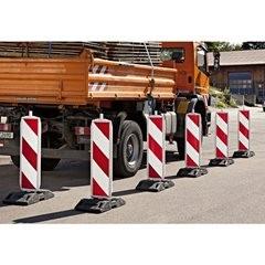 Sicherheitsbake, doppelseitig, Stutzenmaß 60 x 60 mm, rechts- / linksweisend, sc