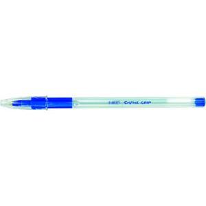 Kuli CristaL® Grip, 0,4 mm, Schaft: farblos, tr, Schreibf.: blau