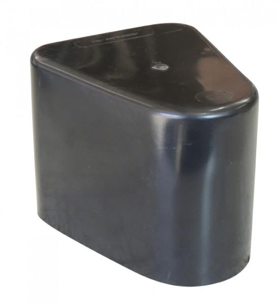 Abdeckkappe für Leitpflock. schwarz
