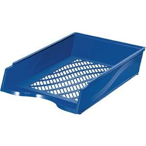 Briefkorb, PS, C4, 255 x 370 x 65 mm, blau