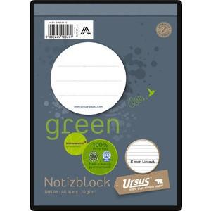 Notizblock, liniert, A6, 70 g/m², 48 Blatt