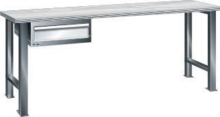 Werkbank 1500x750x840 mm Multiplex40,1SL,grau