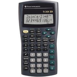 Taschenrechner, TI-30X IIS, flaches Display, 11/10+2stlg., 2z.