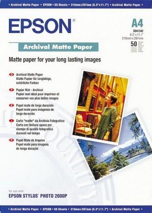 Epson Archival Matte Pap. A4 1x50