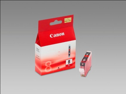 Canon Ink red