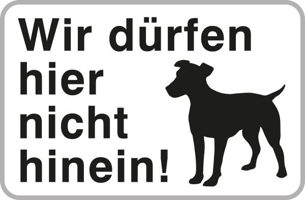 Hundetafel | C-Sign, gebördelt