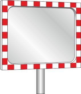 Verkehrsspiegel Diamond-Rahmenspiegel 1