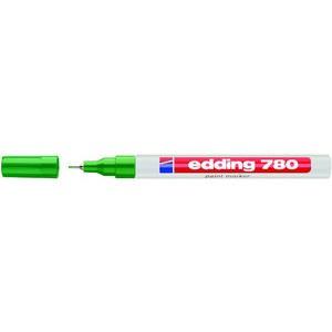 Lackmarker Glanz, 780, Rundspitze, 0,8 mm, Schreibf.: grün