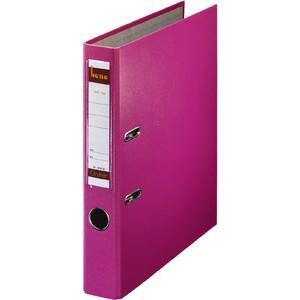 Ordner No.1, PP-kaschiert, Einsteckrückenschild, A4, 52 mm, rosa