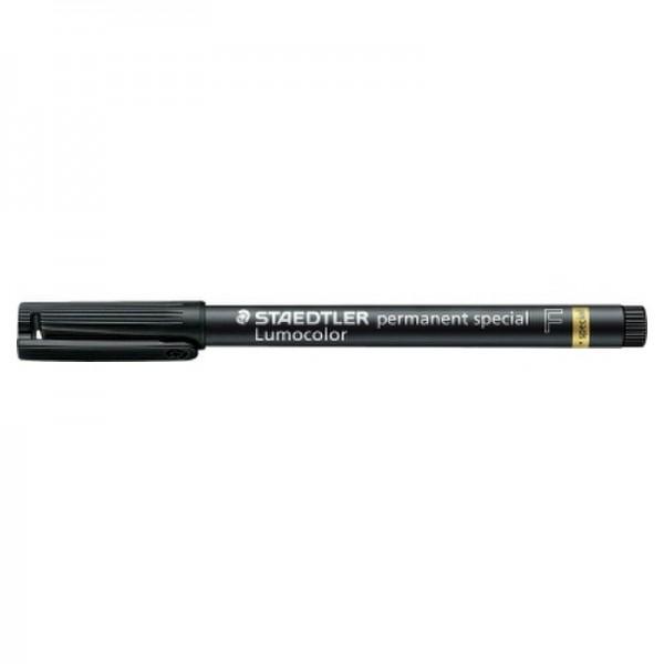 STAEDTLER Folienstift Lumocolor 319 F-9 0,6mm permanent sw