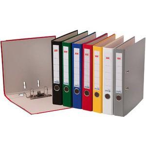 Ordner Color, PP, Einsteckrückenschild, A4, 50 mm, grau
