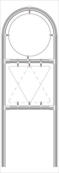 Rohrrahmen V2. Ø 670 mm